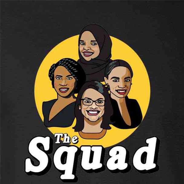 The Squad Congresswomen Ilhan Omar AOC Tlaib Pressley