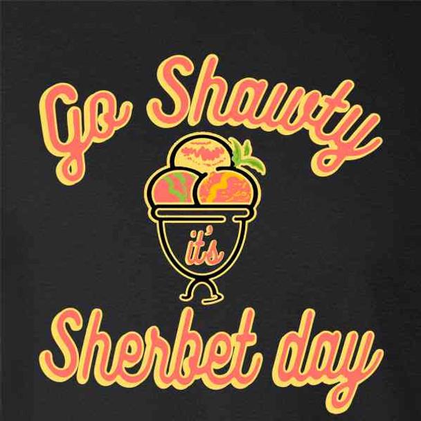 Go Shawty its Sherbet Day Funny Pun Birthday