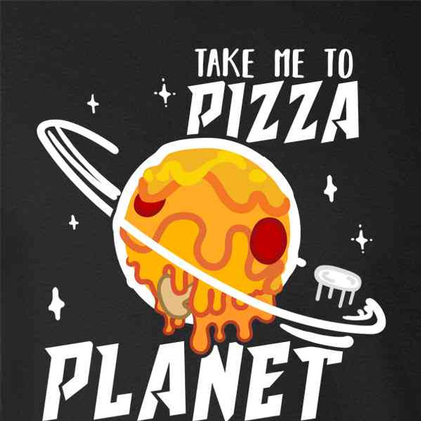 Take Me To Pizza Planet Graphic Funny