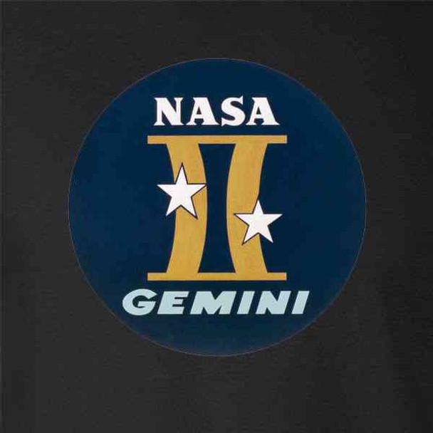 NASA Approved Gemini Project Graphic Retro Vintage