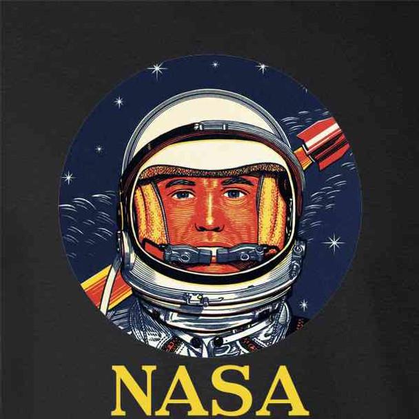 NASA Vintage Astronaut Graphic Retro