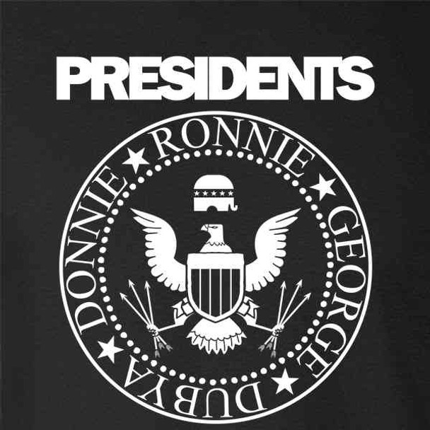 Presidents GOP Rock Band Graphic