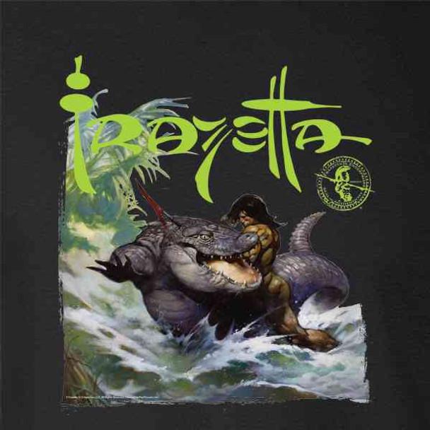 Frank Frazetta Monster Out Of Time Fantasy Art