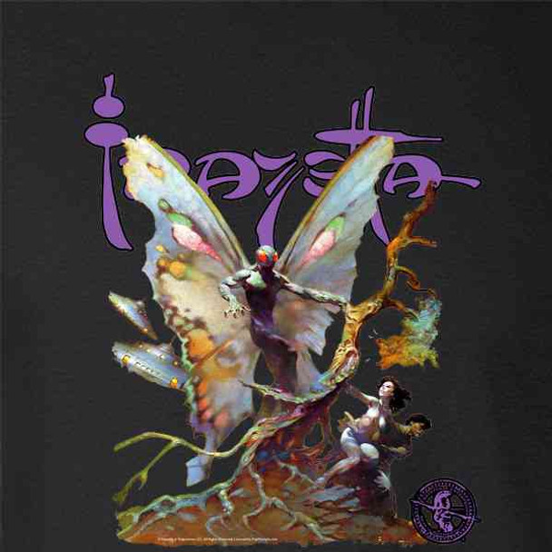 Frank Frazetta Mothman Cryptid Fantasy Art