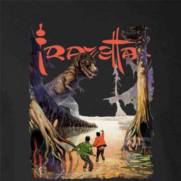 Frank Frazetta T Rex Science Fiction Fantasy Art