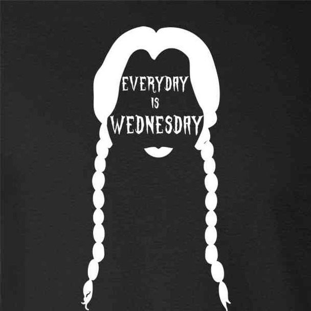 Every Day Is Wednesday Funny Halloween Costume