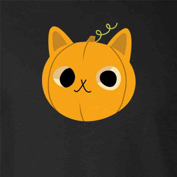 Halloween Jack-o-lantern Cute Pumpkin Cat