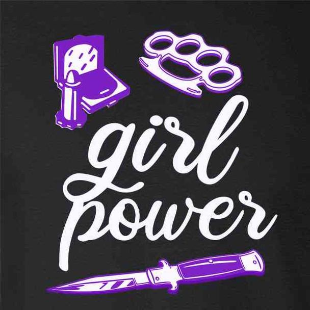 Girl Power Feminist Feminism Switchblade Retro
