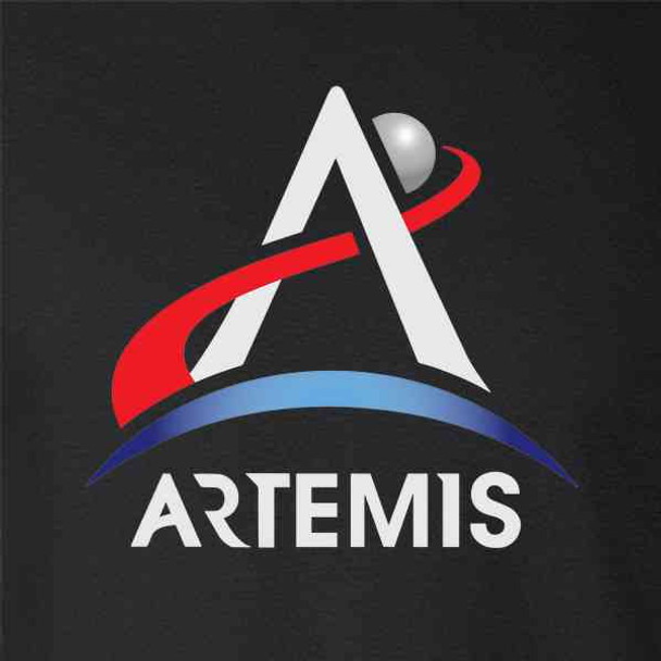 NASA Approved Artemis Program Emblem Moon Mars