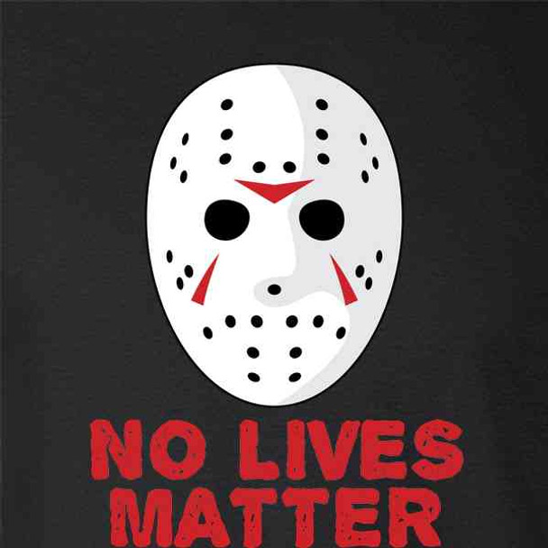 No Lives Matter Hockey Mask Horror Movie Costume