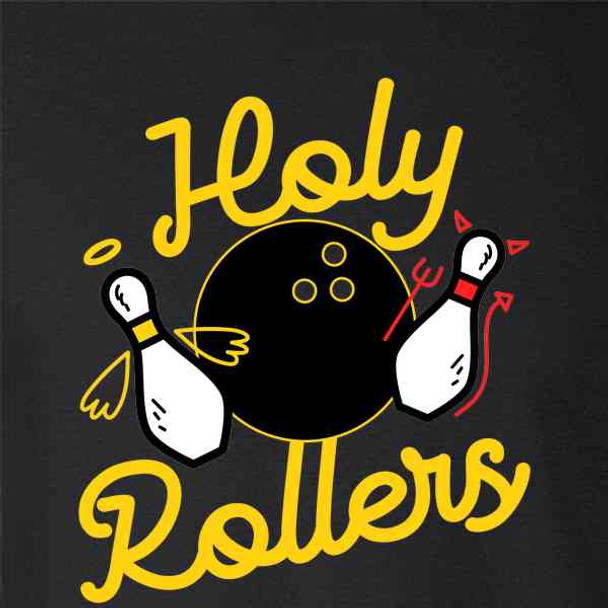 Holy Rollers Funny Bowling Team Bowler