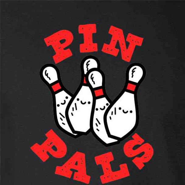 Pin Pals Funny Bowling Team Bowler