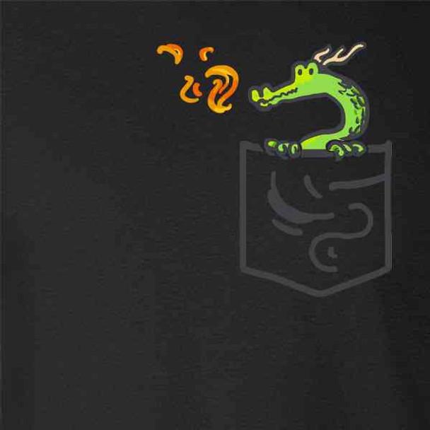 Pocket Pets Dragon Fantasy Cute Faux Pocket