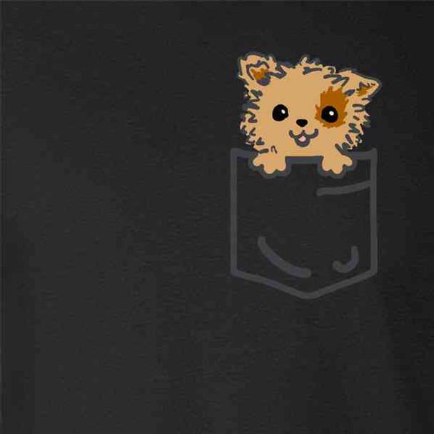 Pocket Pets Puppy Dog Doggo Faux Pocket