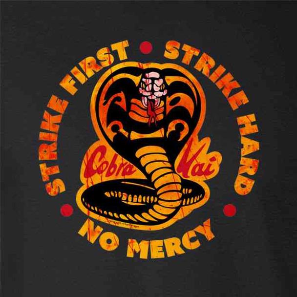 Cobra Kai Motto Circle No Mercy Bloody Karate Kid