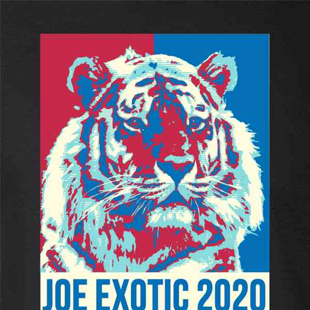 Exotic 2020 Campaign For President Tiger Funny