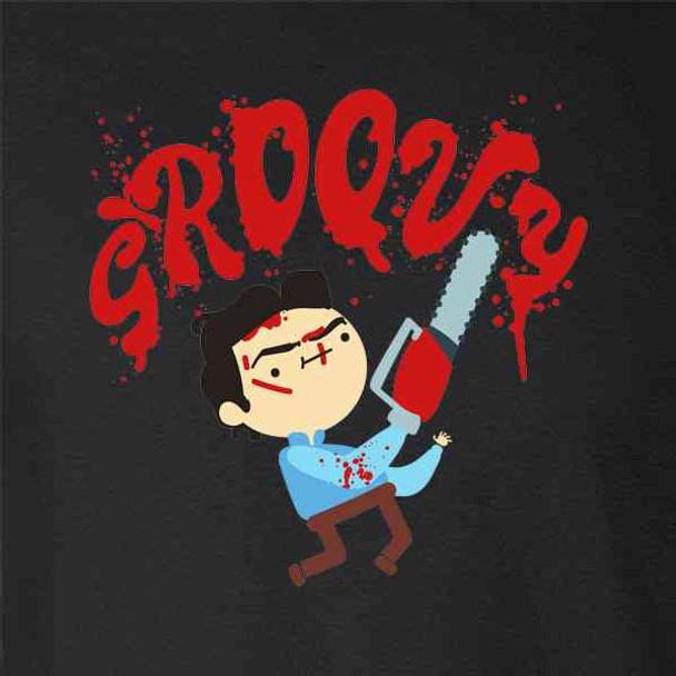 Groovy Ash Cute Funny Horror Cartoon
