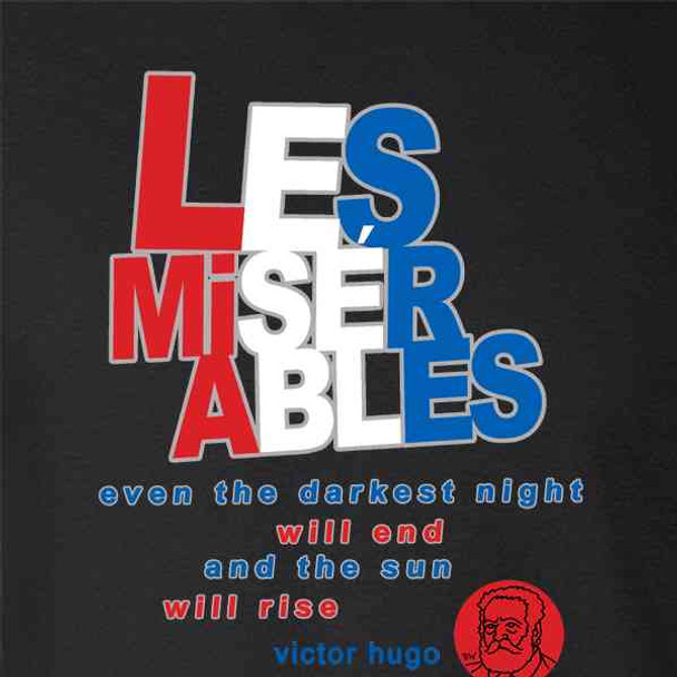 Les Miserables Victor Hugo Book Cover Art