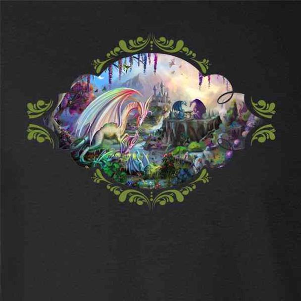 Valley of the Dragon Paradise Fantasy Art