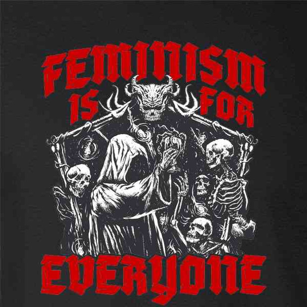 Feminism is for Everyone Metal Punk Emo Goth