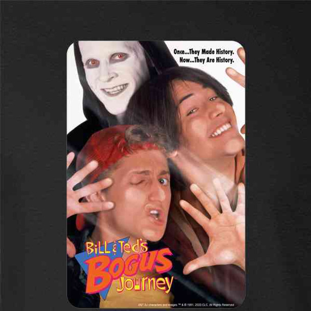 Bill and Ted Bogus Journey Movie Retro