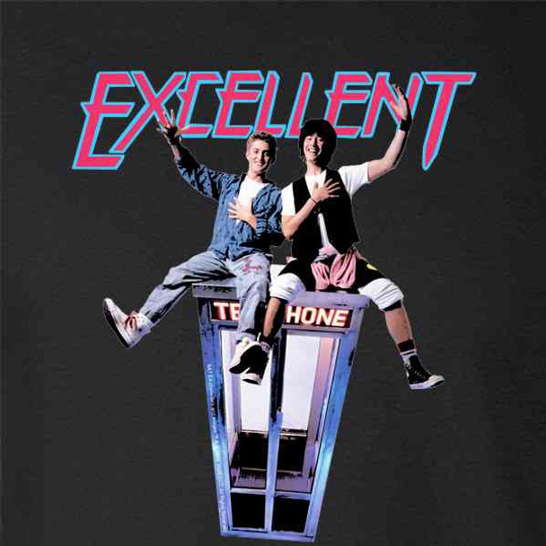 Bill and Ted Excellent Adventure Phone Booth