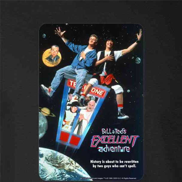 Bill and Ted Excellent Adventure Movie Retro