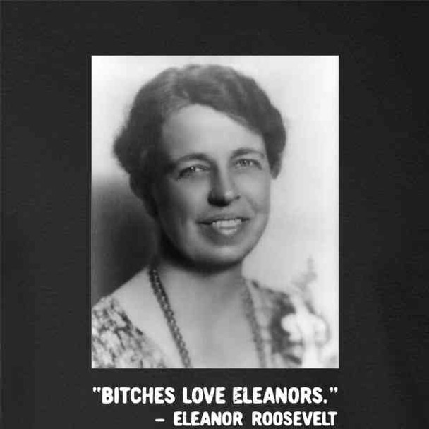Eleanor Roosevelt First Lady Yearbook Funny Quote