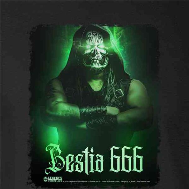 Bestia 666 Luchador Lucha Libre Mask Wrestler