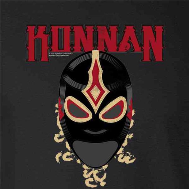 Konnan Luchador Lucha Libre Mask Retro