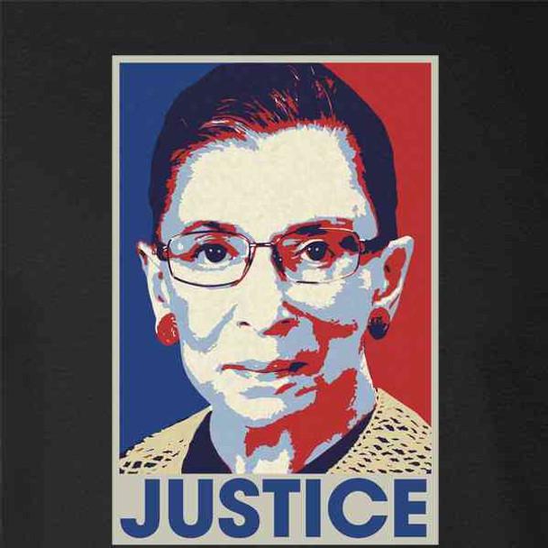 Ruth Bader Ginsburg Justice Pop Art RIP RBG
