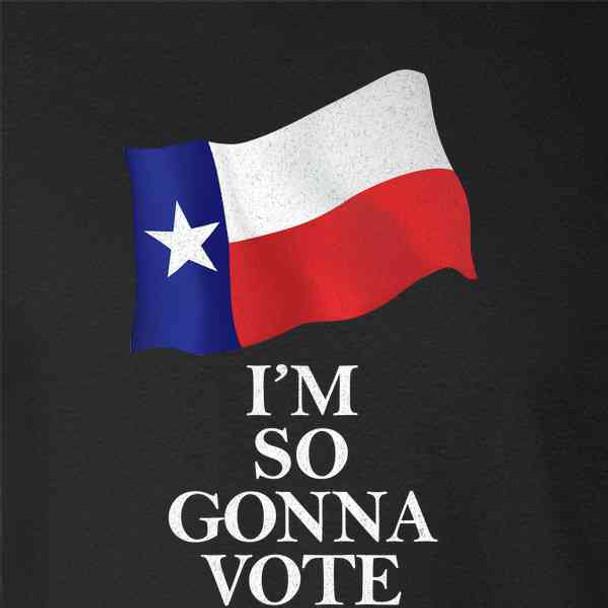 I'm So Gonna Vote Texas 2020 Election I Voted
