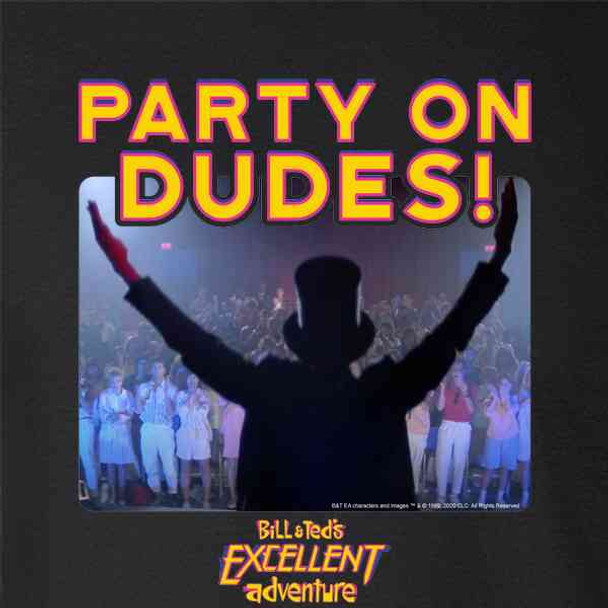Bill and Ted Party On Dudes Abe Lincoln Funny