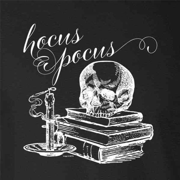 Hocus Pocus Spooky Skull Retro Vintage Halloween