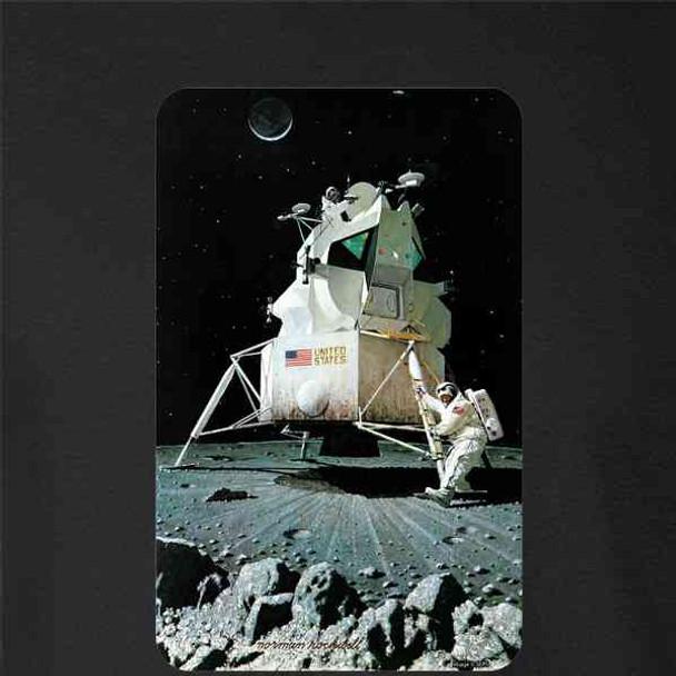Lunar Landing Norman Rockwell Astronaut Moon