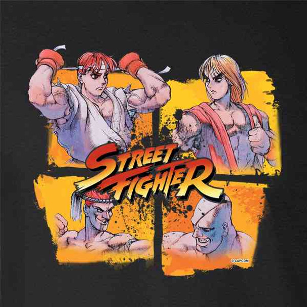 Ryu Ken Sagat and Adon Street Fighter