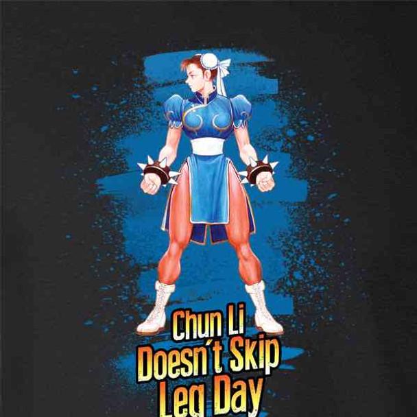 Street Fighter Chun Li Doesn't Skip Leg Day Funny