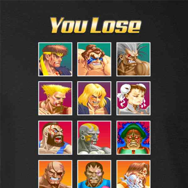 You Lose Street Fighter