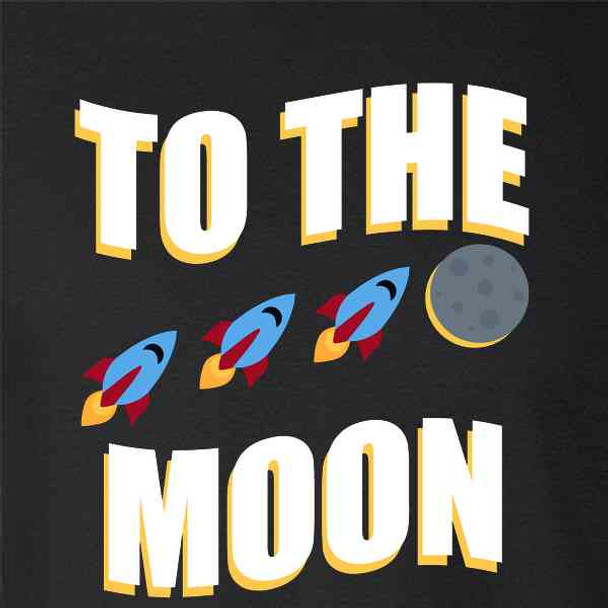 To The Moon Stock Market Funny Wall Street Meme