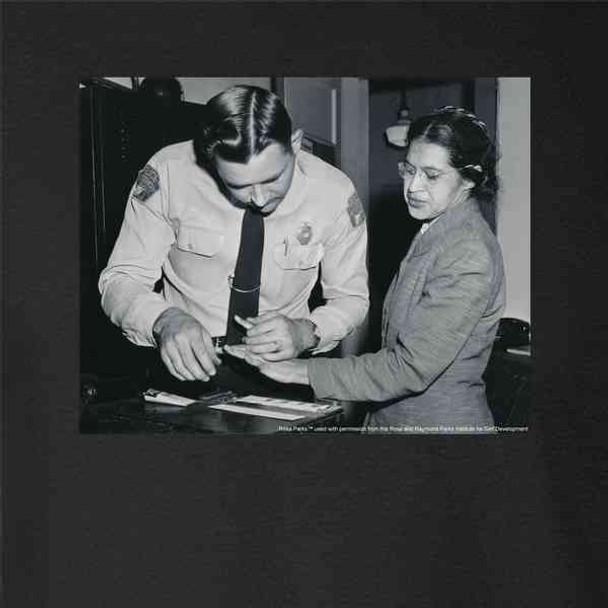 Rosa Parks Fingerprinting Mugshot Civil Rights BLM