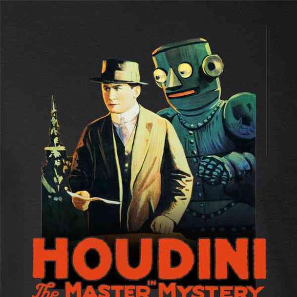 Harry Houdini Master Mystery Vintage Movie Magic