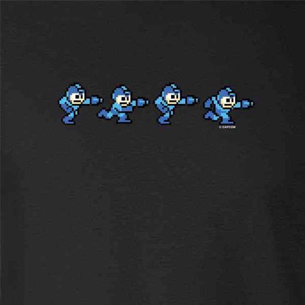 Mega Man 8 Bit Running MegaMan Retro Video Gaming