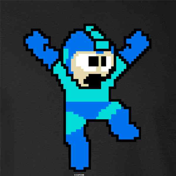 Mega Man 8 Bit Retro Jump Megaman Video Gaming