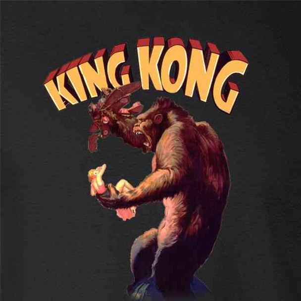 King Kong Movie Poster Vintage Retro Monster