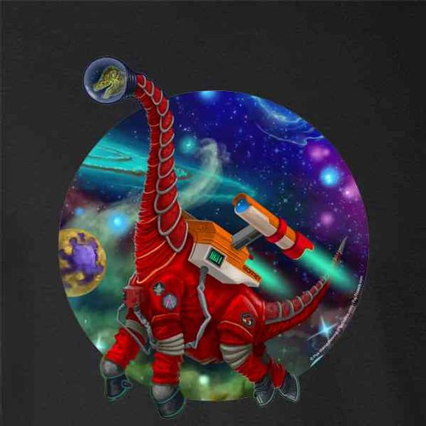 Giraffatitan Dinosaurs In Space Funny Cute