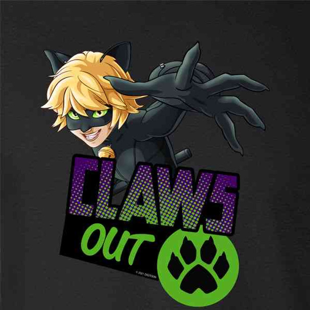 Miraculous Ladybug and Cat Noir Merch Claws Out