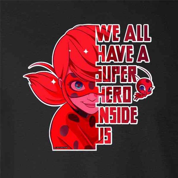 Miraculous Ladybug and Cat Noir Merch Hero Inside