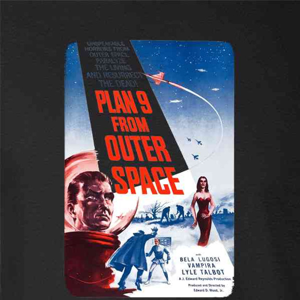 Plan 9 From Outer Space Ed Wood Vintage Movie