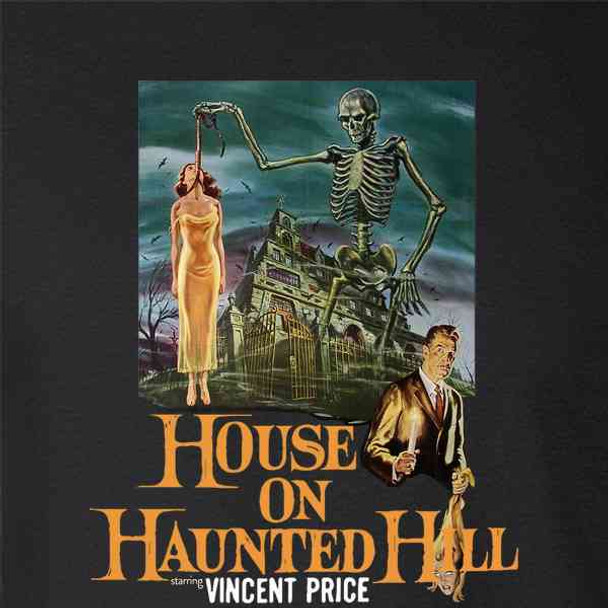House On Haunted Hill Vintage Horror Movie
