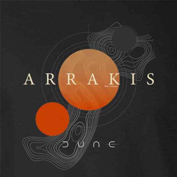 Dune Merchandise Planet Arrakis Map Movie Spice